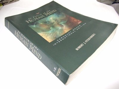 古集二手書J ~In Search of the Human Mind Sternberg  0155026518
