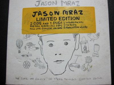 [真的好CD] 2CD+DVD Jason Mraz We Sing,We Dance,We Steal Things