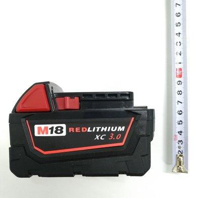 適用 米沃奇 Milwaukee M18 18V 3000mAh (3.0AH) 電動起子電池/鋰電池組/電鑽電池