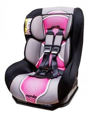 貝比的家-欣康-法國-納尼亞nania-0~4歲-安全汽車座椅-桃紅色(292)-公司貨&店面經營