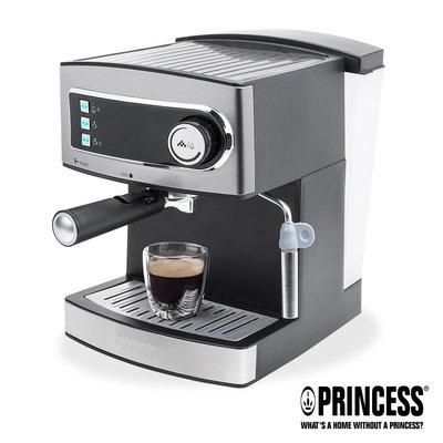 免運費 PRINCESS 荷蘭公主 20bar 半自動 義式濃縮咖啡機 249407 (參考EES200E HD8327