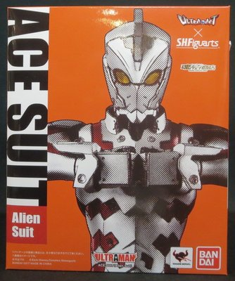 Shf x Ultra act Ace suit  超人ace