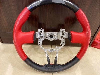 黑皮紅皮紅線方向盤專業換皮客製化