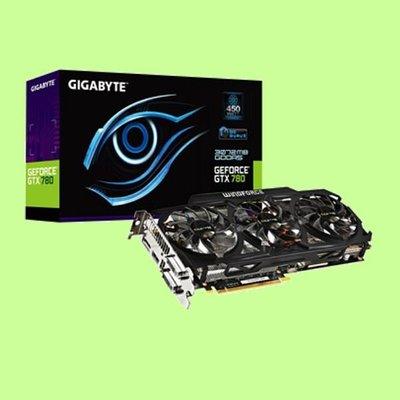 5Cgo 【權宇】技嘉 GV-N780OC-3GD顯示卡NVIDIA PCI-E 3.0 DDR5 2GB DVI 含稅
