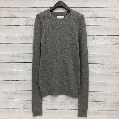 Maple麋鹿小舖 Abercrombie&Fitch * AF 灰色麋鹿LOGO長袖毛衣 * ( 現貨S號 )