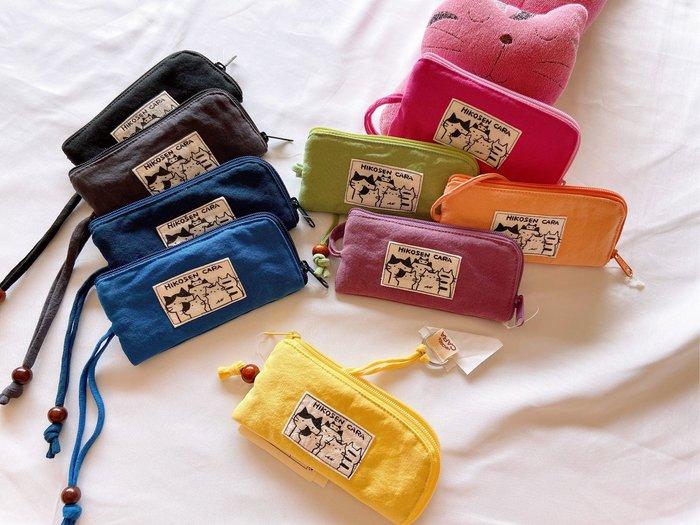 日本卡拉貓~hikosen cara簡約L型伸縮鑰匙包