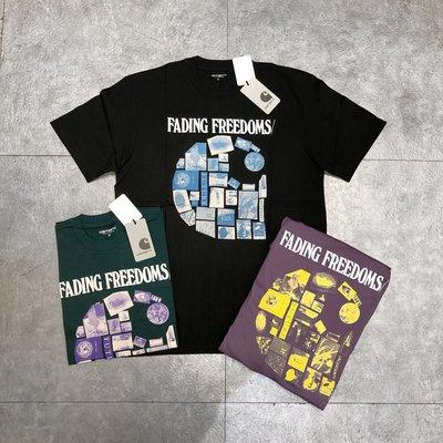 【Faithful 】Carhartt WIP LOGO S/S Fading T-Shirt 【I027103】短T