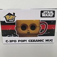 【starwars系列】「C3PO」正版POP造型陶瓷杯