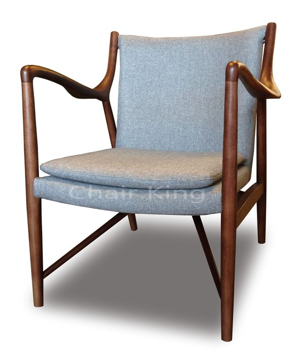 [ 椅子王 ]---- 丹麥設計師 Finn Juhl  Model 45 Easy chair ,復刻版  《特價》