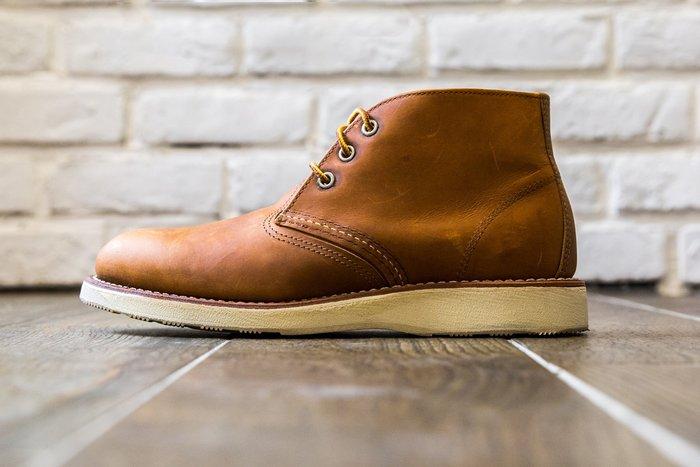 【紐約范特西】少量現貨 Red Wing 3140 棕色 皮革短靴 工作靴 RedWing
