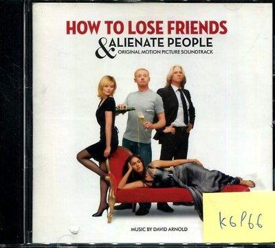 *真音樂* HOW TO LOSE FRIENDS & ALIENATE 二手 K6966 (封面底破.CD有缺口不影響讀取) (大降價.下標賣3)