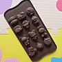 12連 奧特曼 鹹蛋超人 嘻哈猴 卡通 巧克力模...