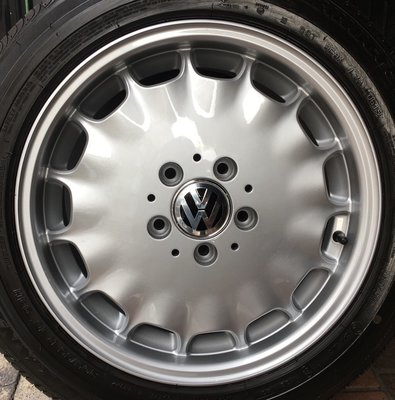 Benz 原廠16吋鋁圈含胎  福斯 VW T4 VR6 Golf Passat Caddy Touran Tiguan