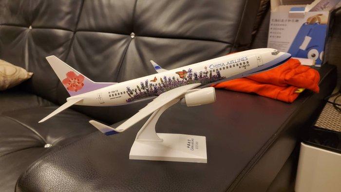 二手保存良好 中華航空1:200薰衣草飛機模型1000下標就賣