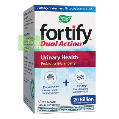 海豚家正品代購 現貨~美國Nature's Way Fortify Dual Action Urinary Health60粒 直郵