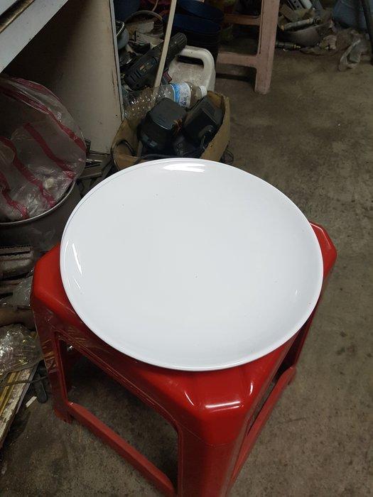 【泰裕二手貨餐具行】中古11吋美耐皿餐盤九成新(另有工作台攤車水槽)