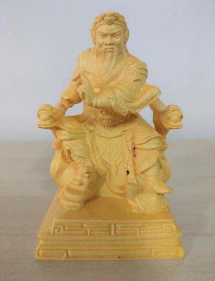 黃楊木玄天上帝 玄武大帝 神像木雕擺件