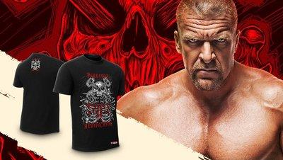 ☆阿Su倉庫☆WWE Triple H Destroyer Creator T-Shirt HHH毀滅造物最新款 熱賣中