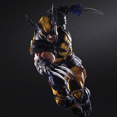 【南部總代理】X戰警Wolverine 英雄系列Play Arts 改金剛狼 金鋼狼 可動 Marvel版 港版 雷神索