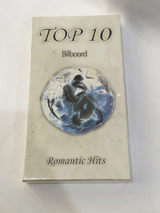 Top 10 Billbord Romantic Hits 6張套裝CD 金革唱片發行