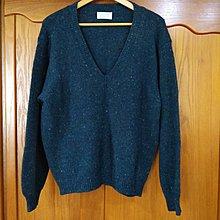 義大利製 United Colors Of Benetton 班尼頓 100%純羊毛 開襟 毛衣