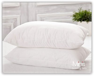 Minis 枕頭 舒適枕 新光紡織纖維棉 絕不起塵螨 品質保證 台灣製(超商限二個)