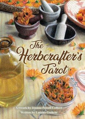 【預馨緣塔羅鋪】現貨正版藥草師塔羅The Herbcrafter's Tarot(全新78張)(與大自然共舞)