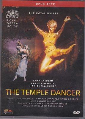 音樂居士#MINKUS La Bayadere 印度寺院的舞女(舞姬)皇家芭蕾舞團 D9 DVD