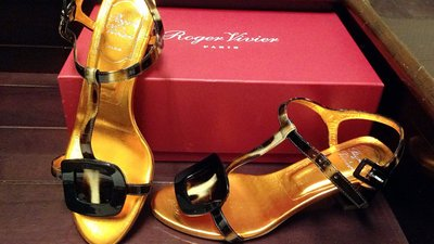 ROGER VIVIER 45mm chips sandals/RV涼鞋(已售)