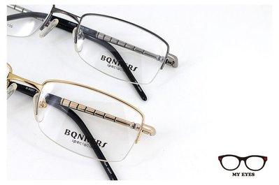【My Eyes 瞳言瞳語】BONKERS鋼筆骨半框光學眼鏡 萬寶龍風格