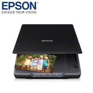 小菱資訊站《EPSON》Perfection V39 超薄掃描器 輕薄照片 / 書本掃描解析度超高