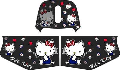 高雄ICE彩繪 gogoro 2 2S Delight Deluxe Hello Kitty 設計圖完工價 $4000