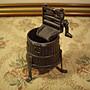 歐洲古物時尚雜貨 金屬造型 三腳水缸 削筆機 擺飾品 古董收藏
