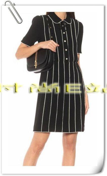 高端版【~SSEZ~】90810063 重工拼色花邊翻領短袖裙  S M L