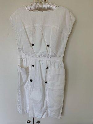 Le Souk 日本名品白色洋裝 23區 自由區 ICB
