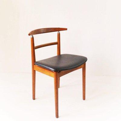丹麥老件 Helge Sibast & Børge Rammeskov 柚木餐椅