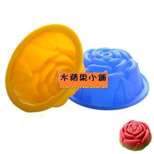*水蘋果*A-194 薔薇花 布丁模 ...