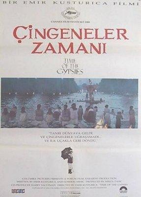流浪者之歌-Time of the Gypsies (1988)(摺式)歐洲版原版電影海報