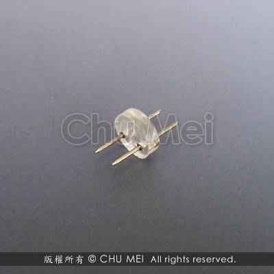 13mm二線簡易式中接 - 中接 接頭 中接頭 連接器 相連 串接 led 燈條 條燈 圓二線 美耐燈 水管燈
