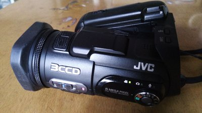 JVC GZ-MC500 3CCD video cam.