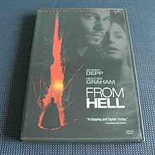 From Hell《屠出地狱》DVD