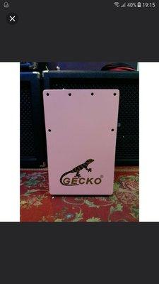 Gecko 木箱鼓 Cajon 清貨特價 $570