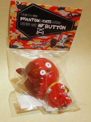 2019年MAME Phantom Cats 小露寶 Dance Cat Button石ノ森章太郎 ART TOY FES梅田Loft限定Sofubi膠公仔