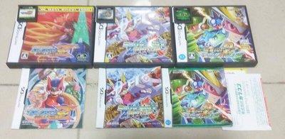 NDS 洛克人 ZERO1~4代合輯 精選集 流星洛克人2 洛克人 ZX ADVENT 3DS可玩