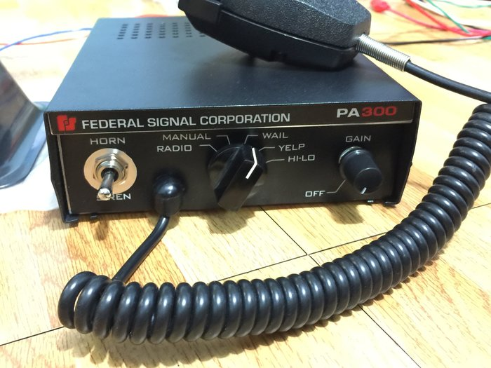 【炬霸科技】PA 300 W 電子 控制 遙控 主機 警報器 喇叭 警笛 大聲公 消防車 救護車 警車 蜂鳴器