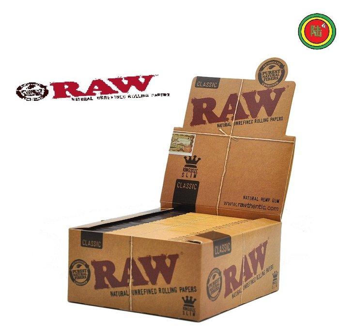 【Triple6】 西班牙 RAW Classic 110mm Joint 菸紙 捲煙紙 捲菸紙