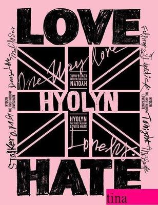 Sistar孝琳Hyo Rin Vol. 1 - Love & Hate韓國原版首張個人專輯全新未拆Block B寫真集