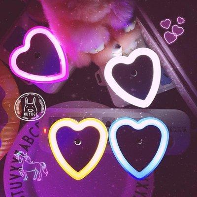 ~三福 ~投影燈 小夜燈 LED燈 家用鋁合金梯子 壁燈小夜燈 清新 節能小夜燈插電led光控感應起夜燈臥室床頭燈迷你