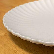 全新 日式 磨砂 素燒 菊紋 陶盤 餐盤 點心盤 直徑20公分