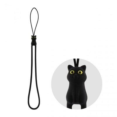 ~Bone~貓咪 防刮彈力吊繩  吊飾 掛縄 環保 裝飾 貓奴 可愛 動物 手機 票卡 識別 送禮.